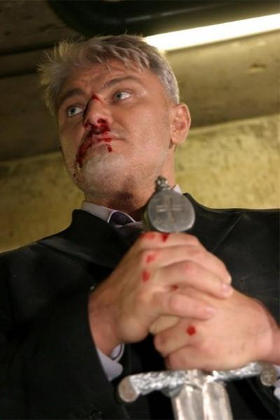 В последствии Турчинский начал сниматься в кино, совмещая амплуа богатырей в боевиках с комическими образами.