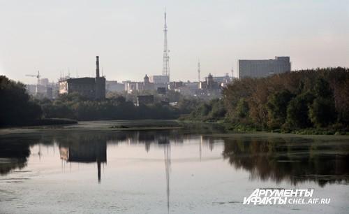Осень в Челябинске.