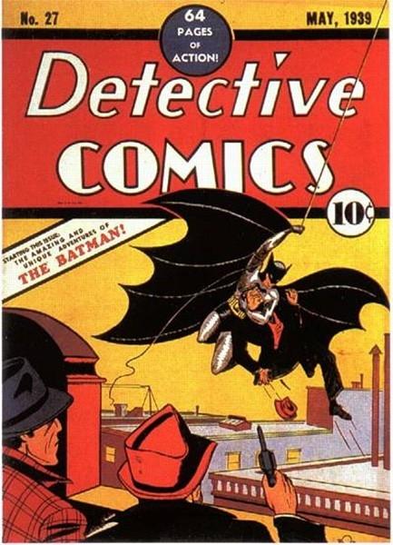 В мае 1939 года в рамках серии Detective Comics в одном из выпусков впервые появился Бэтмен, которому помогал комиссар Гордон - в этом номере супергерой сражался с Альфредом Страйкером и Дженнингсом. Кроме того, именно в этом выпуске впервые был описан вы