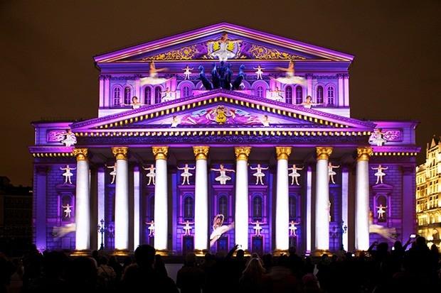 Одним из центральных мест фестиваля стал Большой Театр.