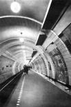Станция метро «Лубянка» в30-х годах.