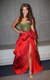 «Мисс Россия-2011» Наталья Гантимурова в платье от Валентина Юдашкина.