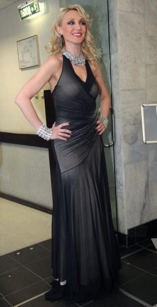 Кристина Орбакайте в платье от Валентина Юдашкина.
