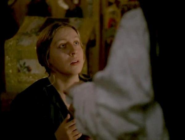 Первой ролью Марины Голуб в кино стала работа в картине «Юность Петра», биографической картине снятой в 1980 году режиссёром Сергеем Герасимовым.
