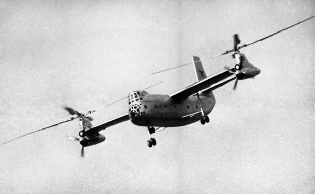 В шестидесятых годах конструкторское бюро Камова получило заказ от Вооружённых сил СССР на постройку машины для быстрой транспортировки баллистических ракет вместе с пусковыми установками. В результате на свет появился винтокрыл поперечной схемы Ка-22. Эт