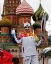 Олимпийская чемпионка по синхронному плаванию Анастасия Давыдова.
