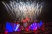 Фестиваль начался с полноценного мультимедийного спектакля «Эволюция огня», представленного на церемонии открытия в спорткомплексе «Лужники».