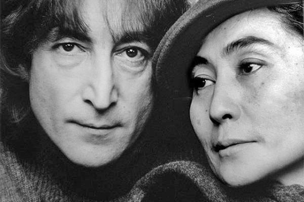 Джон Леннон и Йоко Оно в 1980 году.