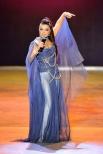 Наташа Королева на праздничном концерте Валентина Юдашкина.