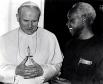 Иоанн Павел II с президентом Танзании Джулиусом Ньерере в Ватикане. 13 марта 1980 года.