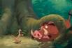 Мультфильмы The Walt Disney Company отличаются глубокой проработанностью в том числе и второстепенных персонажей. Так сурикат Тимон и бородавочник Пумба настолько полюбились зрителям мультфильма «Король Лев», что впоследствии студия выпустила спин-офф «Ко