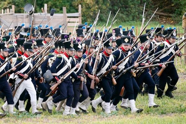 В общей сложности в реконструкции приняли участие любители истории из 24 стран.