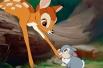Согласно опросу Los Angeles Business, мультфильм о потерявшем маму оленёнке «Бэмби» является лучшим мультфильмом компании. «Бэмби» получил премию «Золотой глобус» и три номинации на «Оскар».
