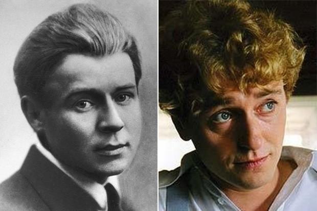 В 2005 году Сергей Безруков сыграл Есенина в одноимённом телесериале. Интересно, что, по некоторым данным, родители назвали Безрукова Сергеем в честь знаменитого поэта.