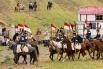 Реконструкцию Битвы народов посетили около 30 000 зрителей.