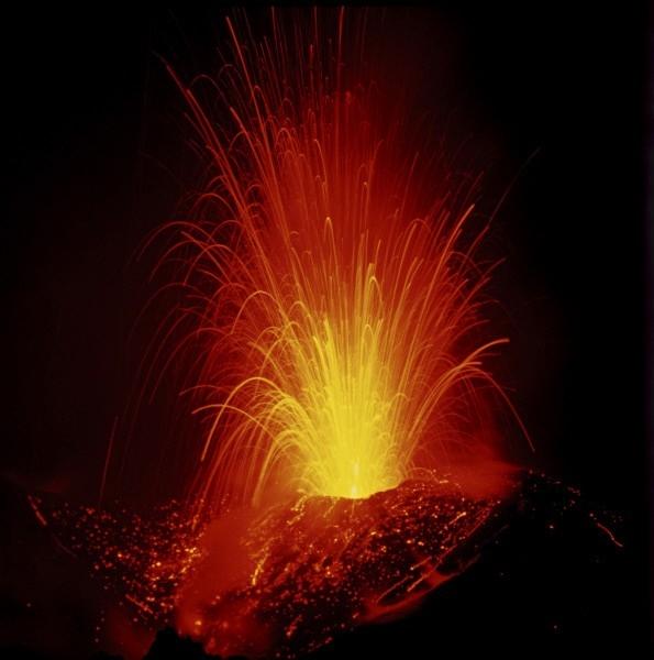 А в 1973 году произошло извержение Ключевской сопки.
