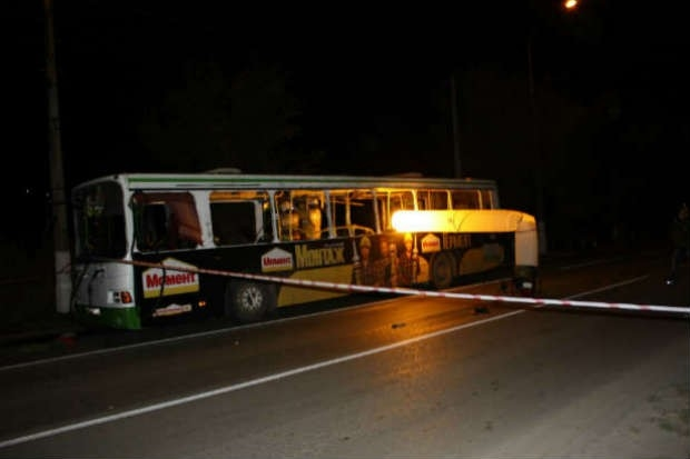 Как выяснили специалисты, смертница в момент взрыва находилась на одном из сидений, расположенных между средней и задней дверью