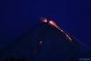 Высота выброса составила 10 километров над уровнем моря. Облако пепла распространилось на 200 километров на юго-запад от вулкана.