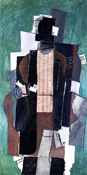 Всё это приводит художника к кульминации сюрреализма в кубизме – периоду синтетического кубизма. От предыдущих работ Пикассо новый цикл отличает обилие цвета и усиление конкретики. Изображённые объекты по-прежнему деформированы, но становятся более узнава
