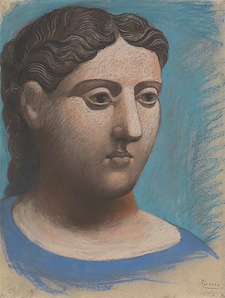 По окончании Первой мировой войны Пабло Пикассо, как и многие другие художники, обращается к неоклассицизму, перекладывая старинные сюжеты на новый лад. Параллельно Пикассо погружается в эстетику сюрреализма. Помимо прочего художник пробует себя в скульпт