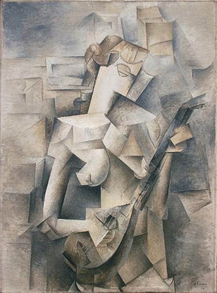 Эксперименты с формой приводят Пикассо к аналитическому кубизму, где автор меняет не только структуру объекта, но и работает с самим пространством, дробя объём на множество отдельных блоков и оттеняя те или иные фигуры. Одной из самых известных работ Пика