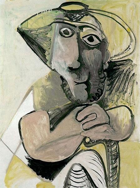 После войны Пабло Пикассо вместе с Франсуазой Жило и двумя детьми переехал на юг Франции, но в 1953 году пара разошлась. Позже художник познакомился Жаклин Рок, вдохновившей Пикассо ещё на несколько работ, которые, впрочем, уже не обладали прежним масштаб