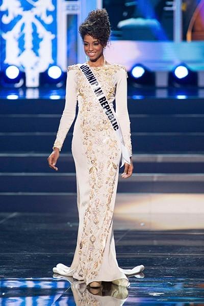 Яритца Рейс, Мисс Доминиканская Республика-2013, заняла в конкурсе шестое место.