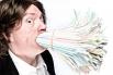 Рекорд по количеству одновременно удерживаемых во рту пластиковых трубочек принадлежит англичанину Саймону Элмору – на протяжении десяти секунд ему удавалось сдерживать натиск 400 трубочек.
