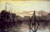 В 1870 году из-за франко-прусской войны Клод Моне переезжает в Англию, но там ему отказывают в выставке в Королевской академии. В ответ на это художник отправляется в Голландию – там он на фоне подозрений полиции в революционной деятельности пишет 25 карт