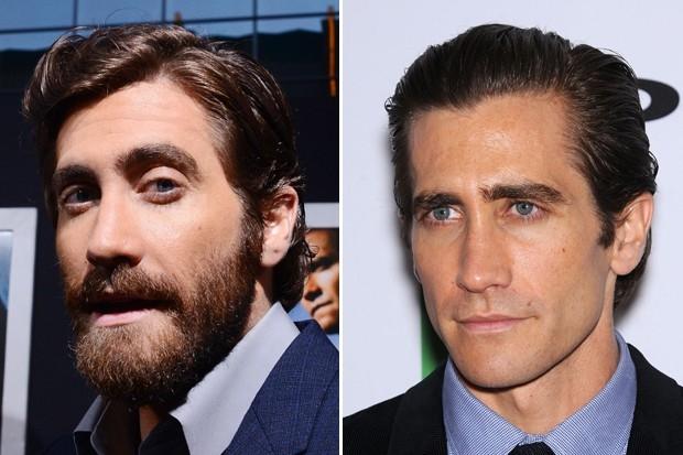 В ноябре прошлого года с густой бородой на мероприятиях щеголял известный по фильмам «Донни Дарко» и «Горбатая гора» Джейк Джилленхол. Побрившись актёр фактически продемонстрировал чудеса перевоплощения.