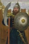 В сумму 150 000 – 200 000 фунтов оценивается полотно классика Виктора Васнецова «На страже», которая участвовала в выставке русского искусства в Нью-Йорке в 1924 году.