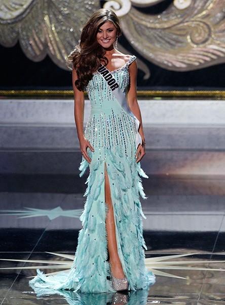 22-летняя Констанца Баес из Эквадора заняла на конкурсе «Мисс Вселенная» третье место.