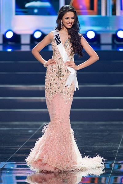 Манаси Моге, 22-летняя красавица из Индии, заняла восьмое место.