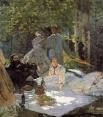 В 1860 году Моне был призван в армию и попал в Алжир, где заболел брюшным тифом. Финансовое вмешательство тётушки позволило художнику избавиться от повинности, после чего по настоянию семьи он поступил в университет на факультет искусств, однако разочаров