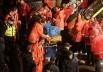 По последним данным происшествие унесло жизни 25 человек, точное количество погибших спасателей неизвестно. Ранения получили ещё 40 человек, среди которых около десяти спасателей. Количество людей, находящихся под завалами, в данный момент неизвестно.