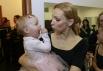 15 марта 2010 года Илзе Лиепа родила дочь Надежду от бизнесмена Владислава Паулюса. Лиепа стала мамой в 46 лет.