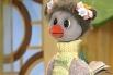 Ворона Каркуша появилась в передаче в 1979 году, чтобы разбавить «мужскую» компанию Хрюши, Степашки и Фили. Одной из отличительных черт Каркуши является то, что в конце передачи она прощается на «вороньем» языке.