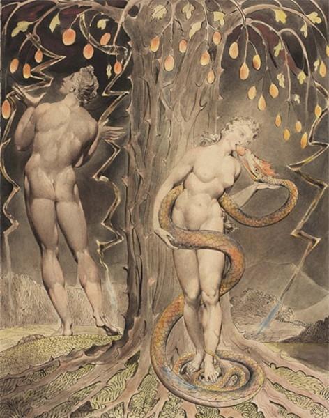 В 1788 году Блейк начал эксперименты в области рельефного оттиска. Этим методом он создавал иллюстрации для своих памфлетов и стихов. Этим способом Блейк создал иллюстрации к Библии, ставшие одной из вершин творческого наследия художника.