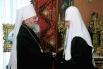 Встреча Преосвященного Митрополита Восточно-Американского и Нью-Йоркского Илариона, Первоиерарха Русской Зарубежной Церкви со Святейшим Патриархом Московским и всея Руси Кириллом, 30 сентября 2010 года.