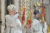 Пасхальная служба Патриарха Кирилла в Храме Христа Спасителя, 2012 год.