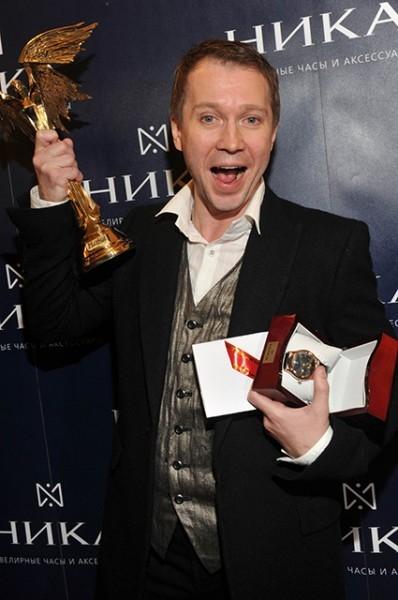 Миронов на вручении премии «Ника» в 2010 году.