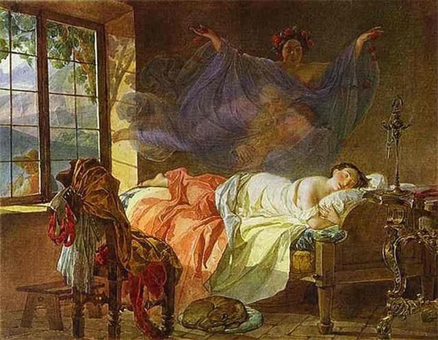 На заре ты ее не буди, На заре она сладко так спит; Утро дышит у ней на груди, Ярко пышет на ямках ланит. И подушка ее горяча, И горяч утомительный сон, И, чернеясь, бегут на плеча  Косы лентой с обеих сторон. А вчера у окна ввечеру Долго-долго сидела она И следила по тучам игру, Что, скользя, затевала луна. И чем ярче играла луна,  И чем громче свистал соловей,  Всё бледней становилась она,  Сердце билось больней и больней. Оттого-то на юной груди,  На ланитах так утро горит.  Не буди ж ты ее, не буди...  На заре она сладко так спит!