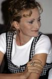 Патрисия Каас на пресс-конференции в московском «Палас-отеле», 1994 год.
