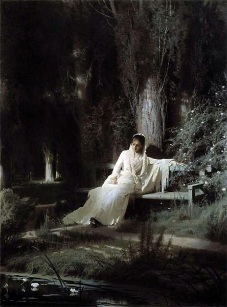 Я тебе ничего не скажу, И тебя не встревожу ничуть, И о том, что я молча твержу, Не решусь ни за что намекнуть.  Целый день спят ночные цветы, Но лишь солнце за рощу зайдет, Раскрываются тихо листы, И я слышу, как сердце цветет.  И в больную, усталую грудь Веет влагой ночной... я дрожу, Я тебя не встревожу ничуть, Я тебе ничего не скажу.