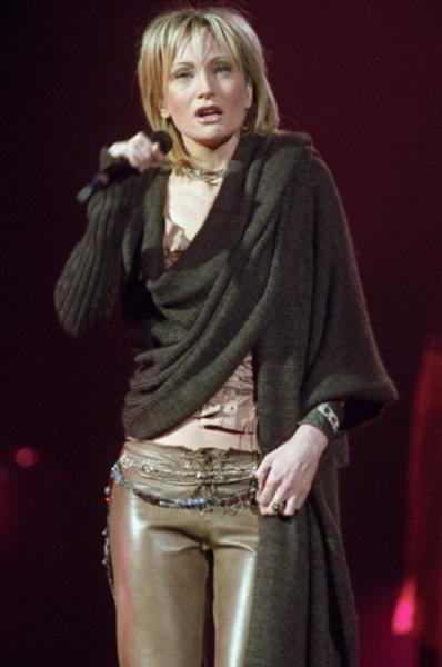 Концерт Патрисии Каас в Москве в 2002 году.