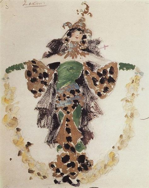 В начале 1900-х художник переключился на театр и создавал эскизы костюмов и декорации к постановкам, операм и балетам. Коровин работал в Большом и Мариинском театрах, а также сотрудничал с миланским театром «Ла Скала».