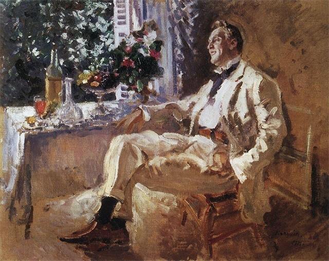 К началу XX века Константин Коровин становится авторитетным художником, его репутация подкреплена работой с крупнейшими театрами мира. В этот период он преподаёт в МУЖВЗ, где учился в юности.