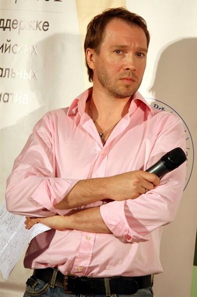 Актёр на вручении  премии «Акция», 2008 год.