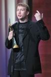 Евгений Миронов на церемонии вручения премии «Золотой Орёл» в 2003 году.