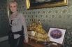 Патрисия Каас в 1990 году перед своим первым концертом в Москве.